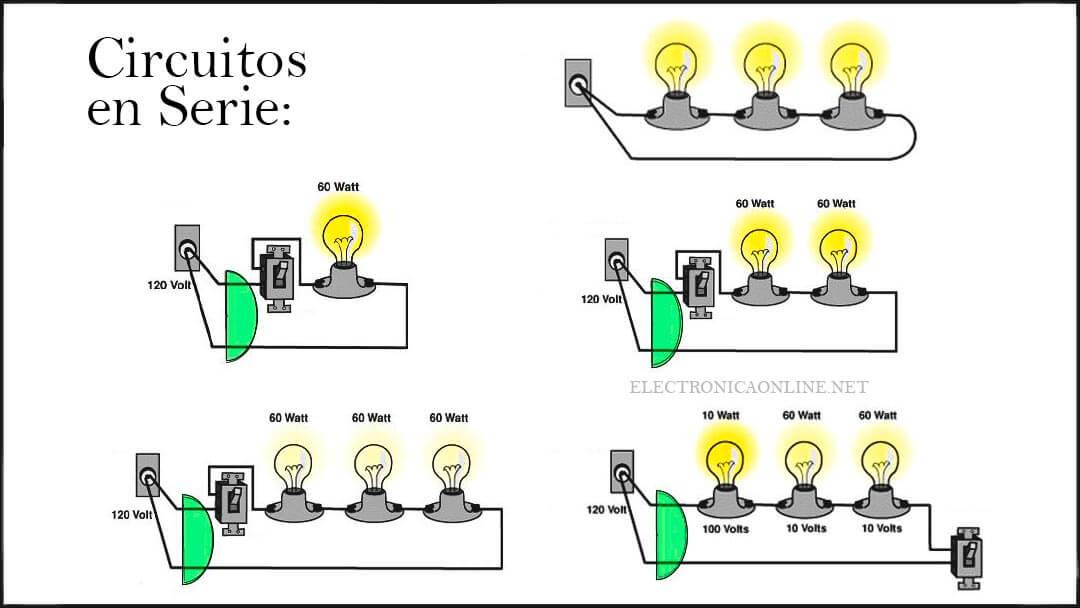 circuito electrico en serie definicion