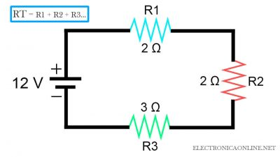 circuitos electricos serie