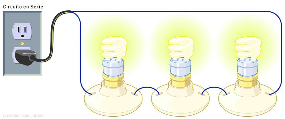 circuito en serie para dibujar