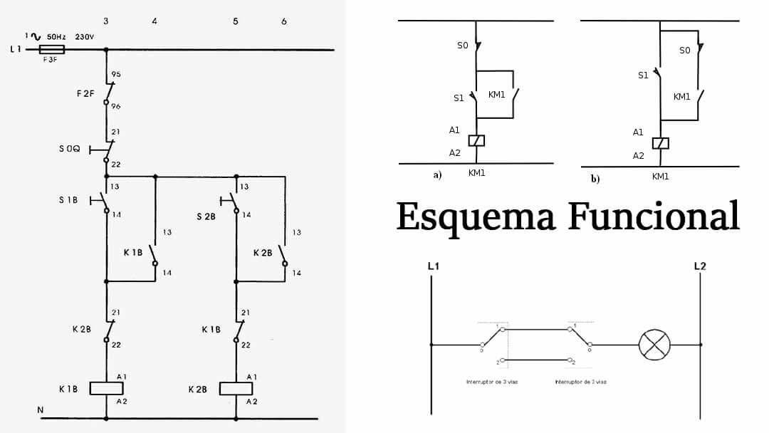 diagrama funcional electrico ejemplos