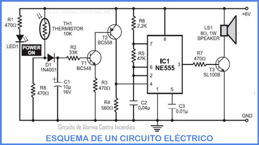 esquema circuito electrico