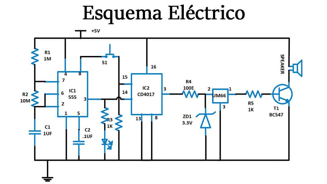 esquema electrico simple