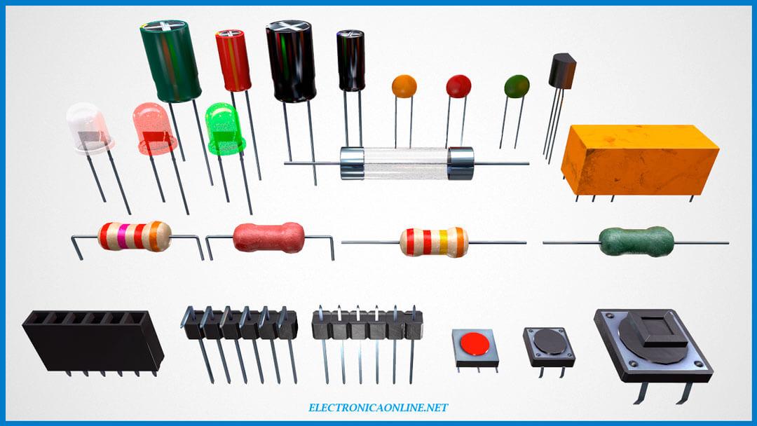 componentes electronicos lista