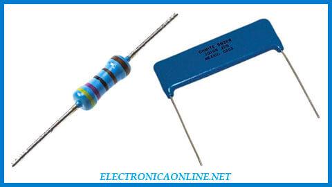 Resistores de película gruesa y película delgada