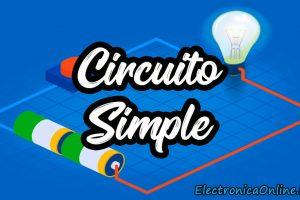 circuito eléctrico simple