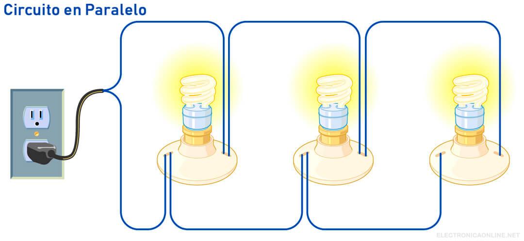 circuito en paralelo caracteristicas