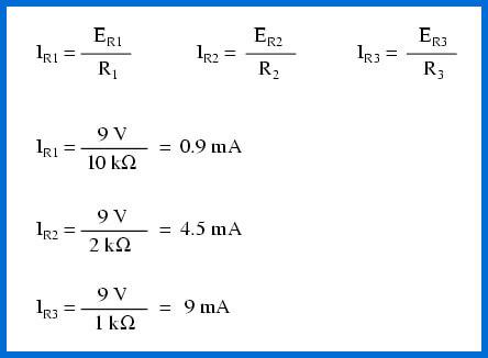 circuito en paralelo formulas