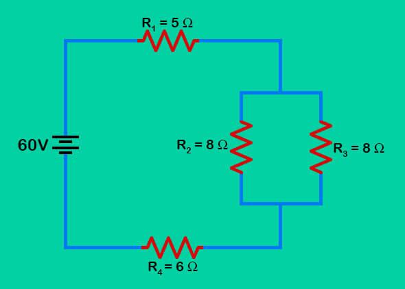 circuito mixto esquema