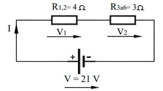 circuito resistencias mixto