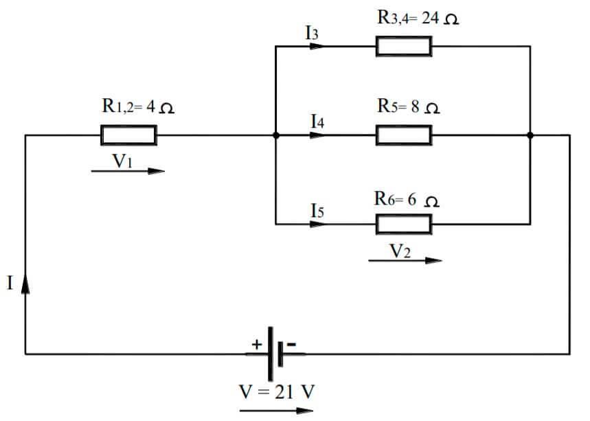 circuitos mixtos resueltos