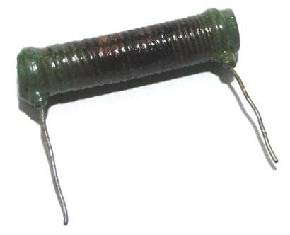 resistor de alambre enrollado