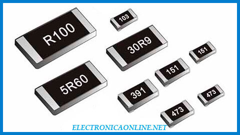 resistores de montaje superficial