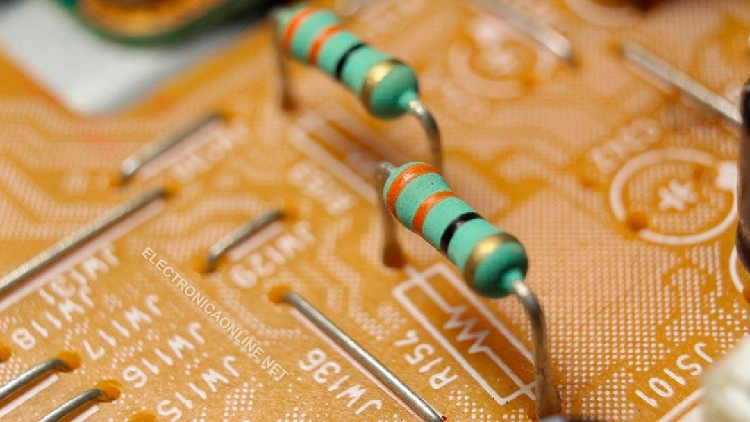 resistores ejemplos