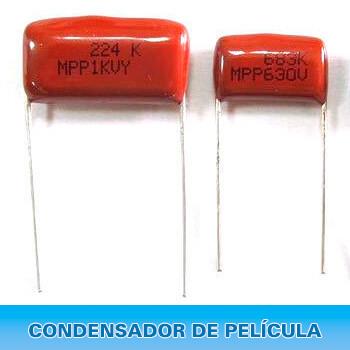 condensador de pelicula