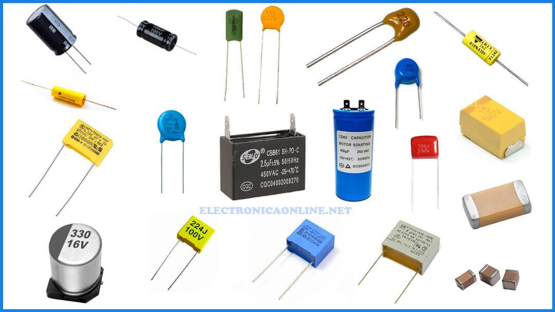 condensadores tipos