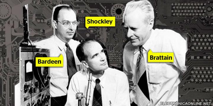 quien invento el transistor