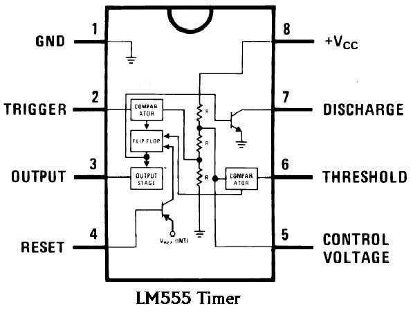 circuito integrado de temporizador