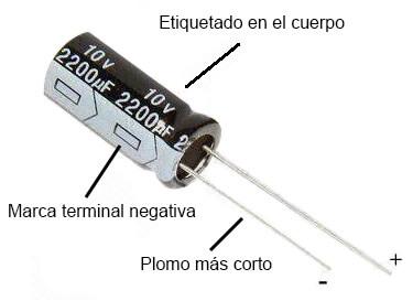Condensador electrolitico de aluminio