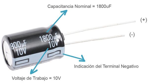 condensador caracteristicas