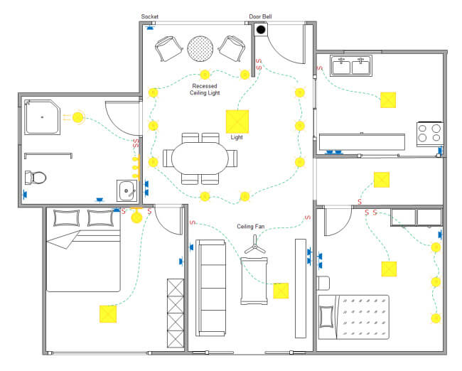 plano electrico vivienda
